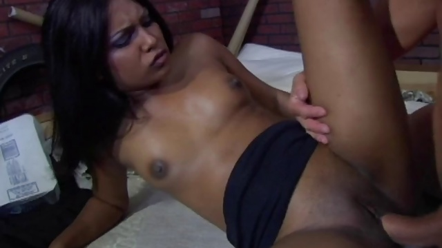 Indian Jazmin Gets Boned