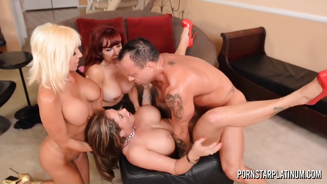 PornstarPlatinum  – Eva Notty, Tara Holiday and Sexy Vanessa